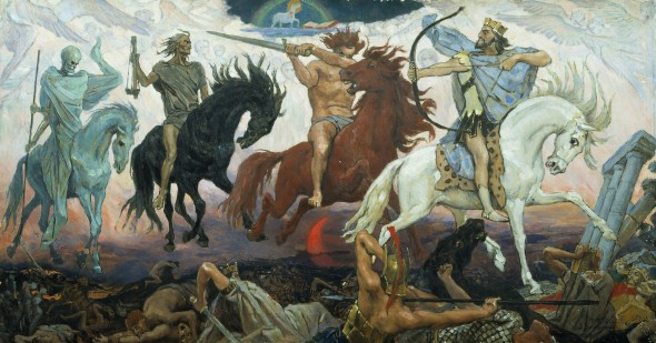 The hoarse foremen of the Apocalypse