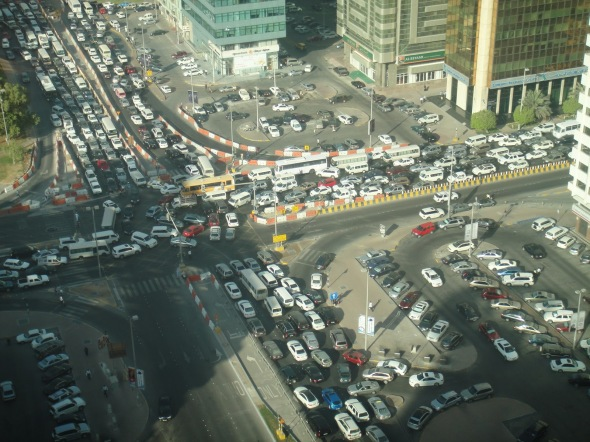 26092010 Unprecedented traffic block in AUH DSC00445 7 - AUH MALL VIEW